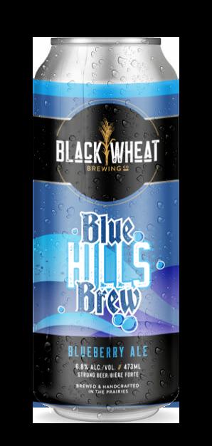 Black Wheat Brewing Co. Blue Hills Brew