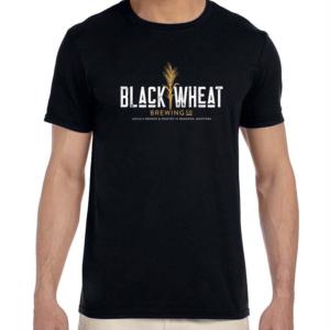 Black Wheat TSHIRT-BLACK