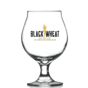 Black Wheat Belgian Glass