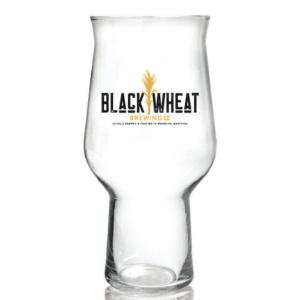 Black Wheat Turin Glass