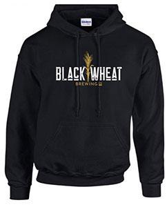 Black Wheat Hoodie - Black